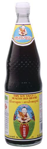 thai soy sauce healthy boy brand  authentic thai