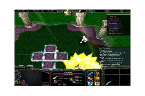 warcraft 3 frozen throne dragon ball z maps free download