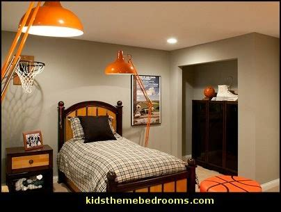 Basketball Bedroom Decor by Decorating Theme Bedrooms Maries Manor Sports Bedroom