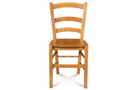 chaises de cuisine en bois chaise en bois massif tina assise bois coloris chene