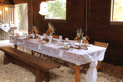 rustic table linens for weddings rustic chic table at vinewood wedding and events fall open