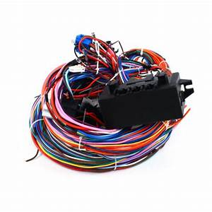 20 Fuse 24 Circuit Complete Universal 12v Wiring Harness