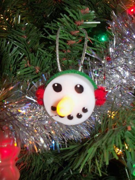 tea light snowman ornament thriftyfun