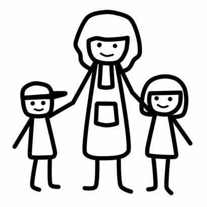 Vector Mother Parent Children Caring Pixabay