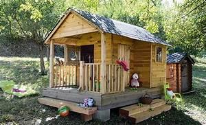 Cabane De Jardin Enfant : comment monter une cabane sur une pente ~ Farleysfitness.com Idées de Décoration