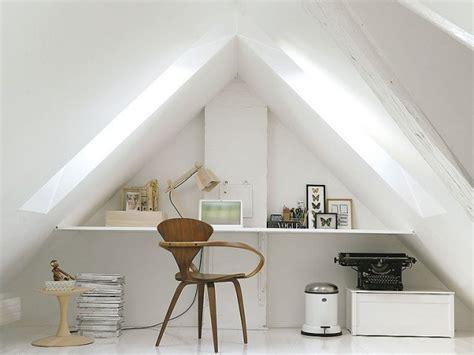idee amenagement bureau 5 idées pour optimiser un espace en sous pente joli place