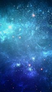 Blue Galaxy - Best HD Wallpapers For iPhone and Android ...