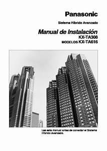 Panasonic 616 Instta Pdf Diagramas De Centrales