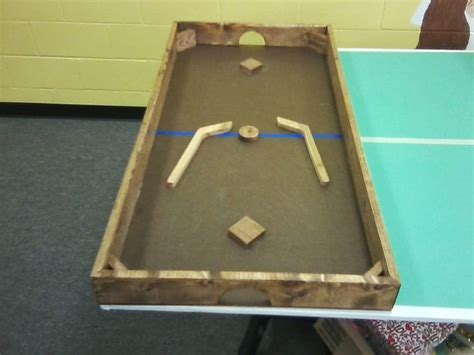 love games homemade nok hockey table homemade tables