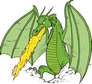 Image result for free clip art Fire Breathing Dragon