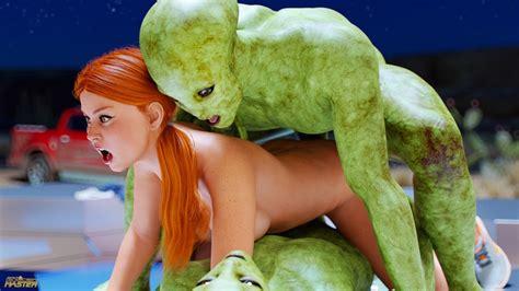 First Contact Goldenmaster Big Dick Alien Sex 3d Porn