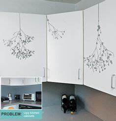 Wall stencils on pinterest toile black canvas and for Best brand of paint for kitchen cabinets with sticker stencils