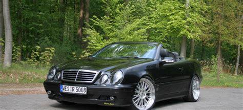 Mercedes Tuning Am Offenen Clk