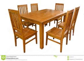 dining table and chairs isolated stock photos image
