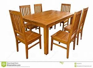 Table Salle A Manger Et Chaise : table de salle manger et chaises d 39 isolement photos stock image 31072313 ~ Teatrodelosmanantiales.com Idées de Décoration