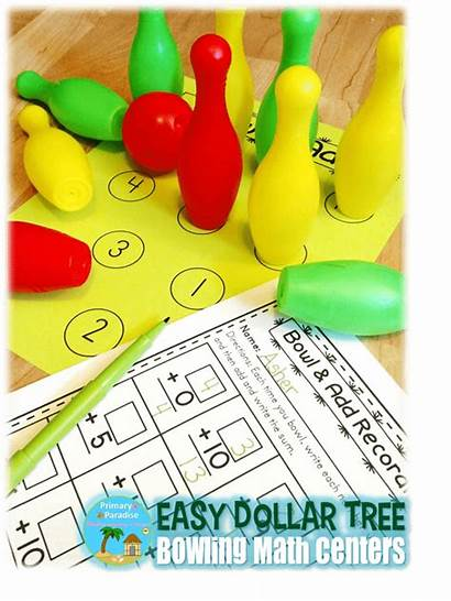 Dollar Tree Bowling Centers Math Heart Bowl