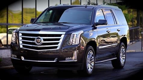 cadillac escalade  start  full review test