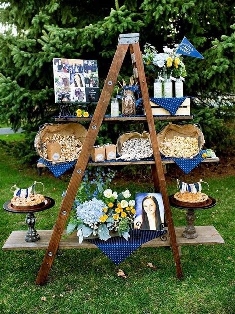 Decorating Ideas For Graduation by Best 25 Outdoor Graduation Ideas On