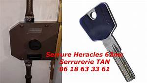 tuto comment changer une serrure heracles 63mc cylindre With serrure heracles