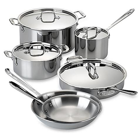 cookware stainless steel clad piece gordon ramsay royal doulton kitchen cooking pans costco sets bedbathandbeyond pots pan pc bath pot