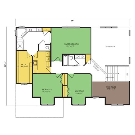 stony ford floor plan  beds  baths  sq ft wausau homes