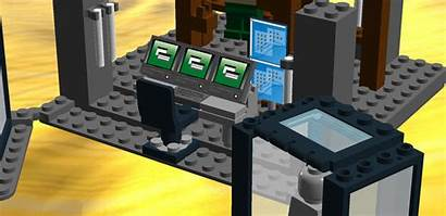 Arrow Lego Cave Desk Computer