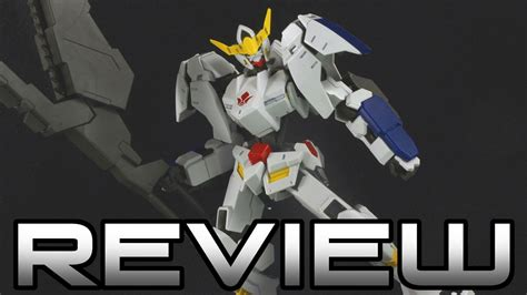 hg 1 144 gundam barbatos 6th form iron blooded orphans gunpla review 鉄血のオルフェンズ youtube