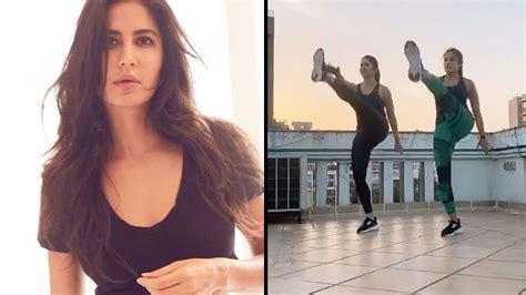 katrina kaif shares   minute home workout routine