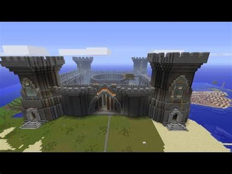 build  minecraft castle super quickly cheat part  youtube