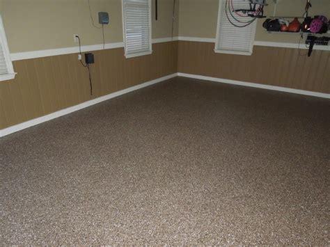 granite garage floor