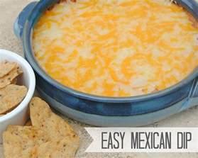 easy dips easy mexican dip