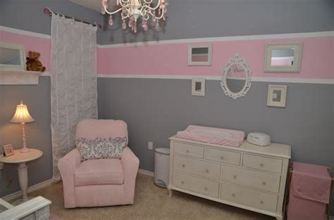 Zimmer Rosa Grau by Baby Room Pink Grey Nursery Ideas Baby