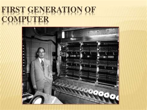 Types And Genration Of Computer