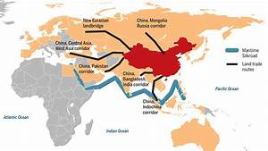China's belt and road infrastructure plan also includes ...
