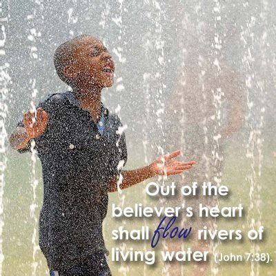 Living Water   Rivers of living water, Walk by faith ...