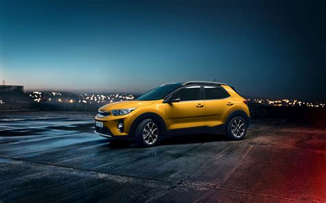 Kia Sportage 4k Wallpapers by Wallpapers 4k Kia Stonic 2018 Cars