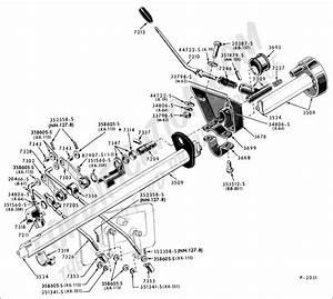 1969 Ford F100 Steering Column