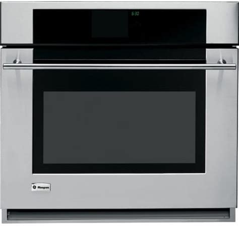 monogram zetrmss   single electric wall oven   cu ft reverse aireuropean