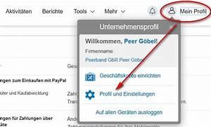 Was Ist Meine Paypal Adresse : paypal konto ndern so geht s ~ Buech-reservation.com Haus und Dekorationen