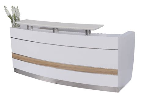 modern reception desk design commercial modern office floor wood reception executive