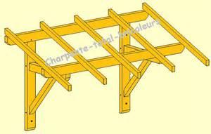 comment construire un auvent en bois