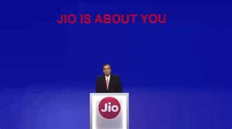 reliance jio launch mukesh ambani announces free voice calls cheaper data tariffs the indian
