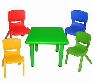 Tafel Für Draußen : vierkante kunststof kindertafel in 4 kleuren kindermeubels banbini kidsplaytables ~ Markanthonyermac.com Haus und Dekorationen