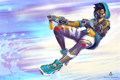 overwatch tracer wallpapers photo gamers wallpaper p