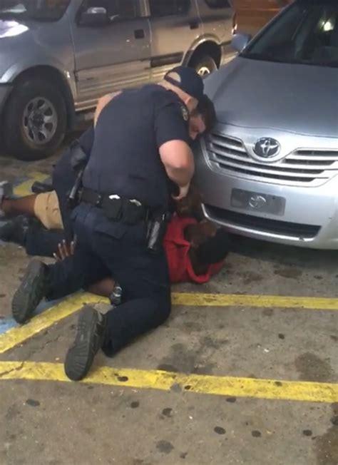 video shows alton sterling   holding  gun  shot
