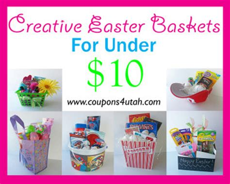 candy easter basket ideas   coupons  utah