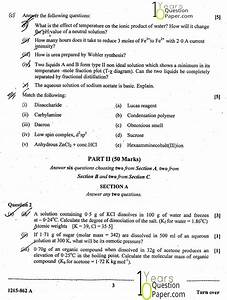 Isc 2015   Chemistry  Theory  Paper