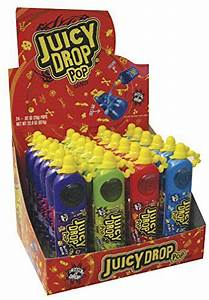 Juicy Drop Pop Stand | Candy in 2019 | Food, Sour candy ...