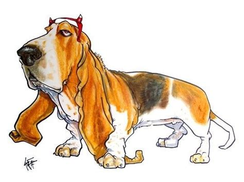 images  john lafree canine caricatures