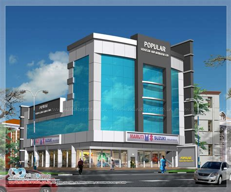commercial building plans kerala model home plans